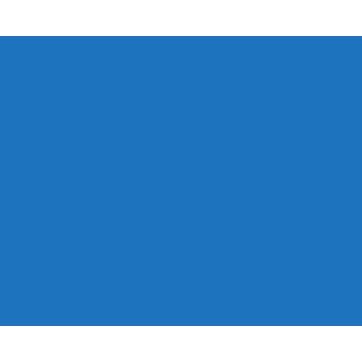 train-blue
